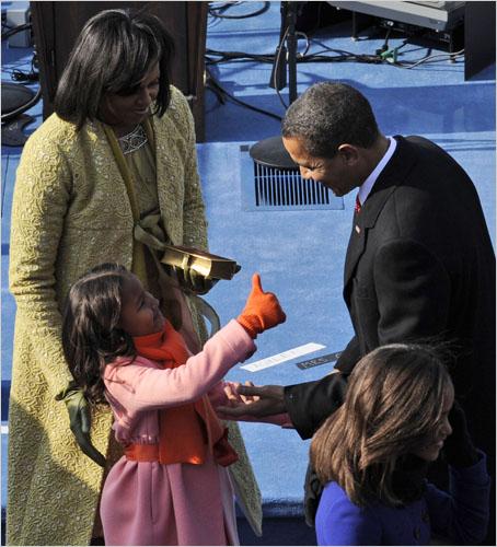 Good job, President O!